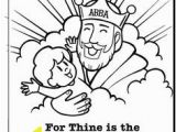 God is Our Father Coloring Pages