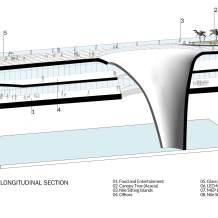 تفاصيل جسر المشاة