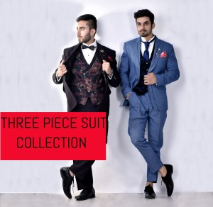 three piece suit collection