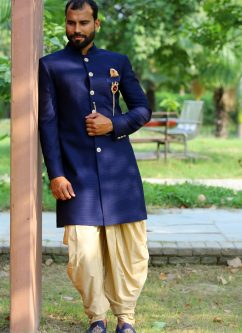 latest menswear indowestern