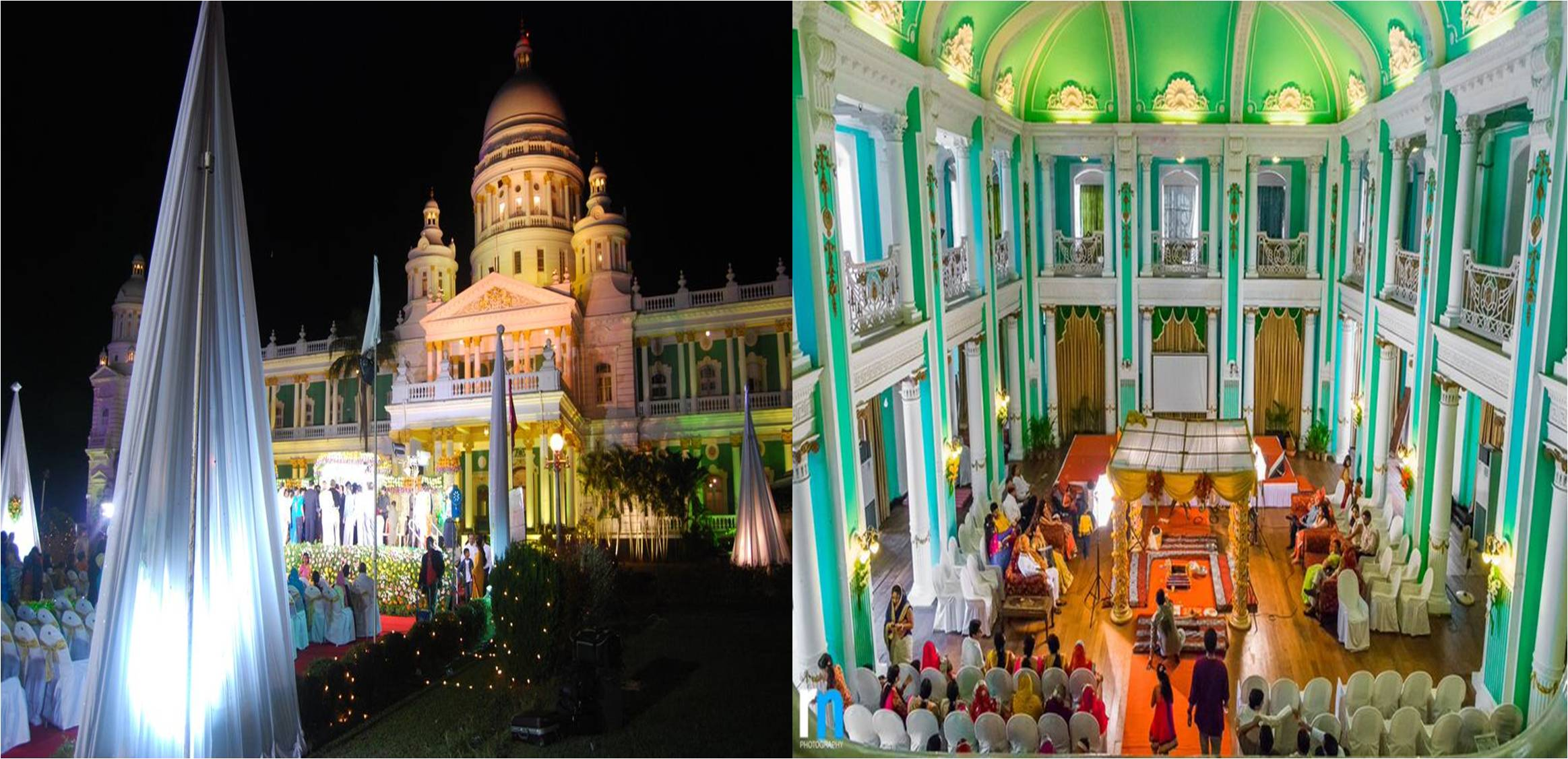 Palace wedding in mysore