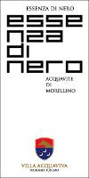 Acquavite di Morellino Essenza di Nero 2004, Villa Acquaviva (Italy)