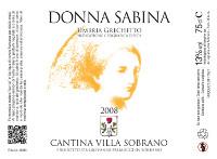 Donna Sabina 2008, Villa Sobrano (Italy)