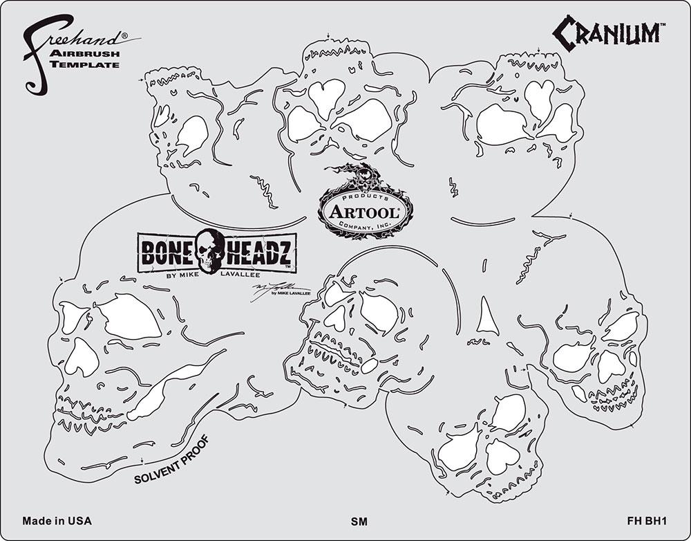 Artool Template Boneheadz by Mike Lavallee