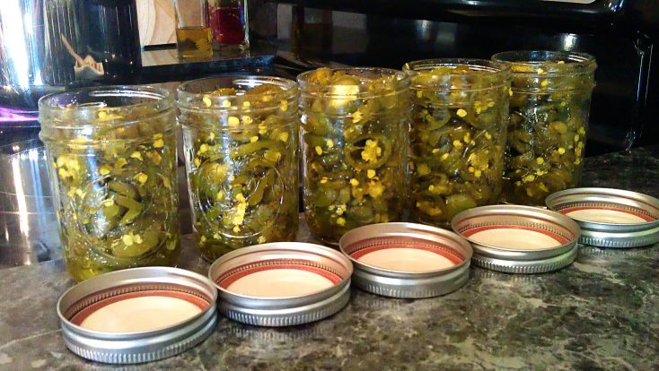 Candied Jalapenos (Cowboy Candy)