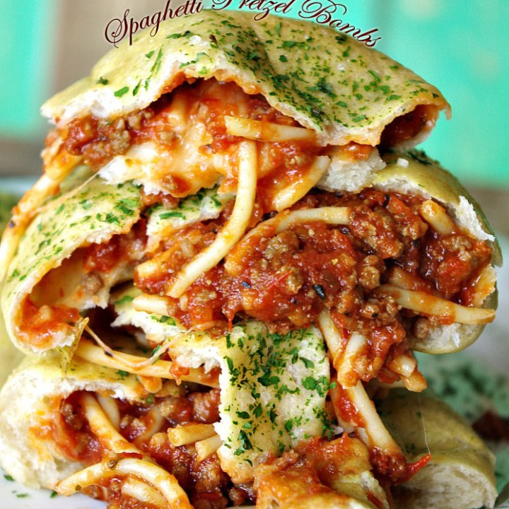 Spaghetti Pretzel Bombs