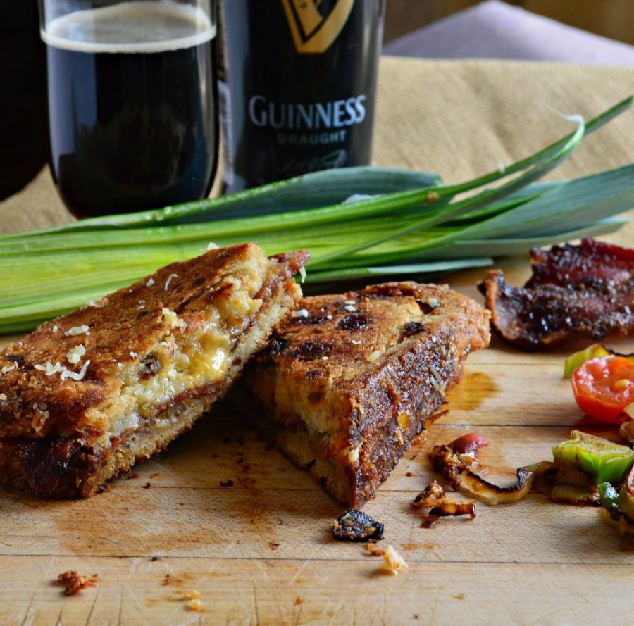 Guiness Grilled Cheese