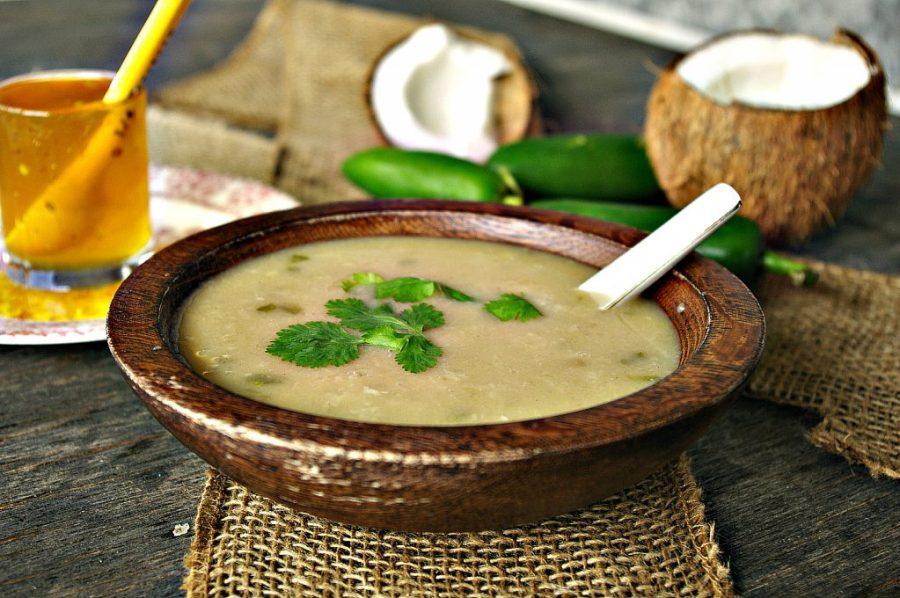 Coconut Jalapeno Basmati Rice Soup | Dixie Chik Cooks