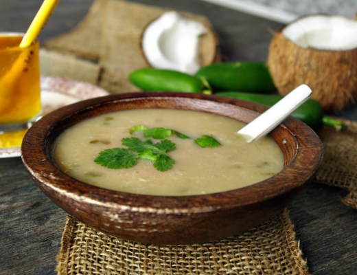 Coconut Jalapeno Basmati Rice Soup   Dixie Chik Cooks