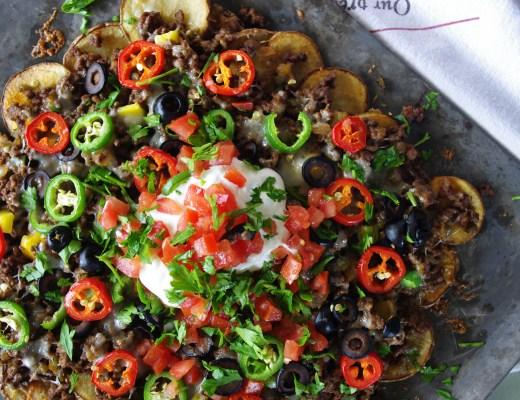 Sheet Pan Pachos | Dixie Chik Cooks