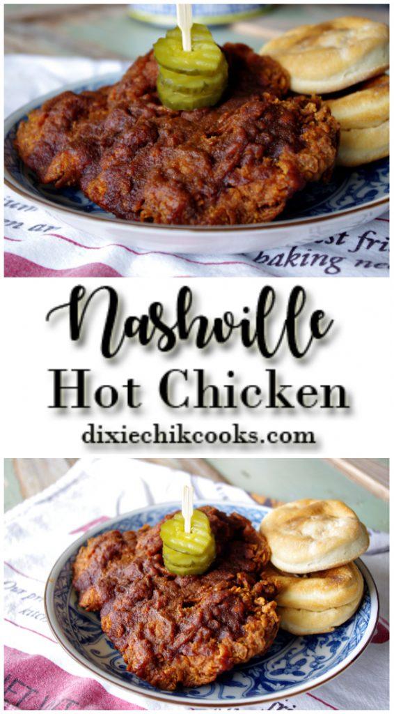 Nashville Hot Chicken | Dixie Chik Cooks