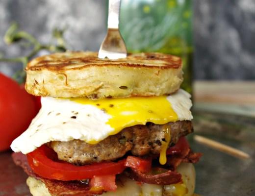 Brunch Burger | Dixie Chik Cooks