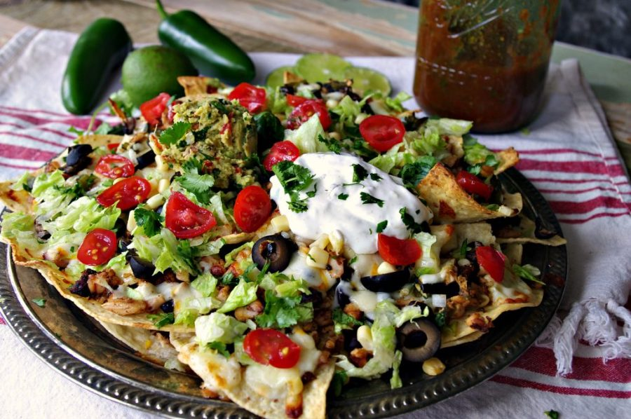 Smoked Chicken Nachos