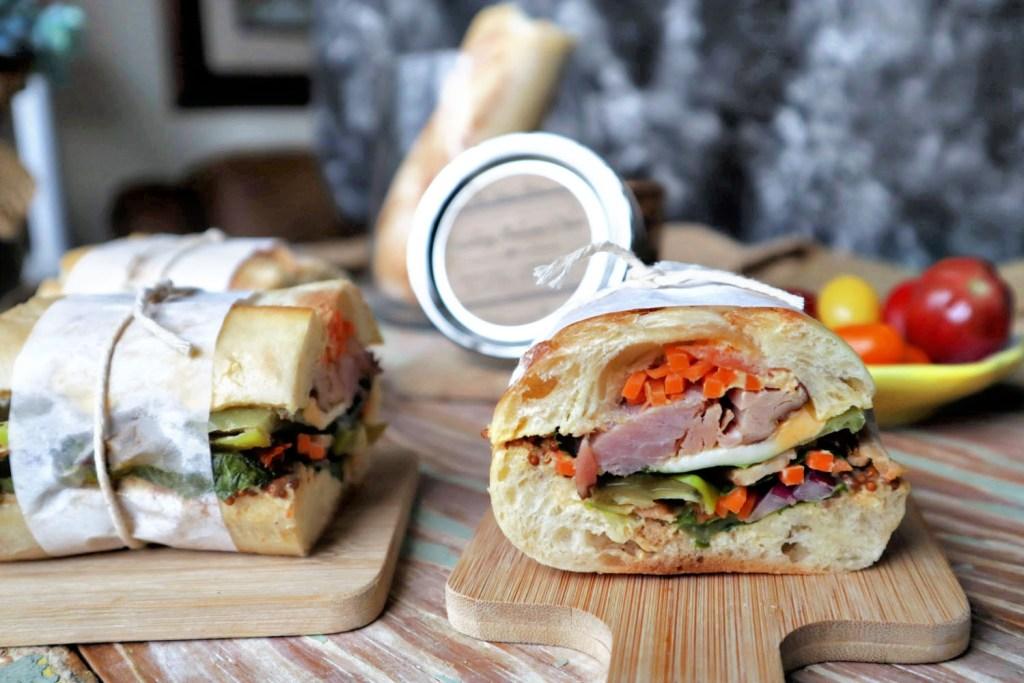 Pressed Picnic Sandwiches