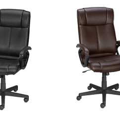 Staples Turcotte Chair Brown How To Adjust Office Luxura High Back Only 50 Regular 160 Need A New