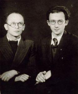Abraham Sutzkever och Shmerke Kaczerginski