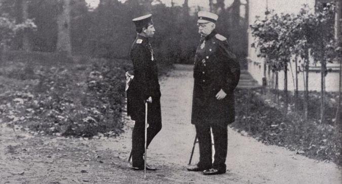 Wilhelm II och Bismarck