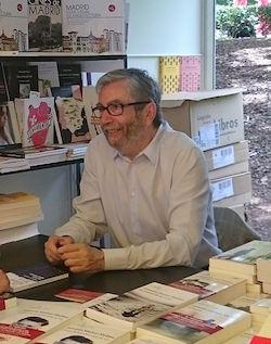 Antonio Muñoz Molina på bokmässan i Madrid 2016 (Wikipedia)