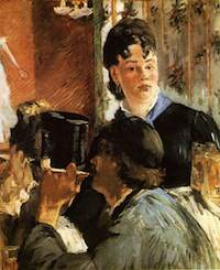 Manet, La serveuse de Bocks