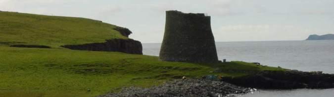 Broch på Mousa, Shetland (Wikipedia)