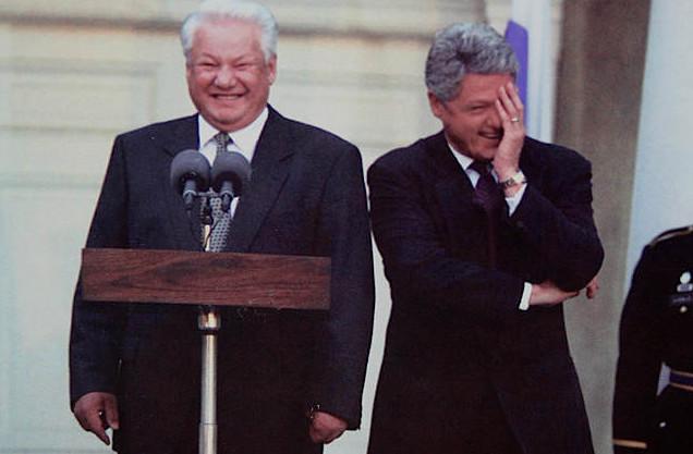 Jeltsin och Clinton - dominans, frigörelse, inkongruens...?