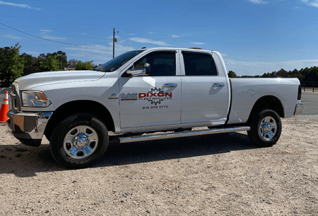 Dixon Fleet Services Pickup Truck for the About Us Page