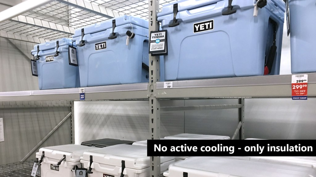 Best Portable Coolers Yeti No Active Cooling