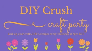 DIY Crush Link Party Button