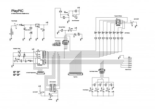 - circuit diagrams, schematics, electronic projects