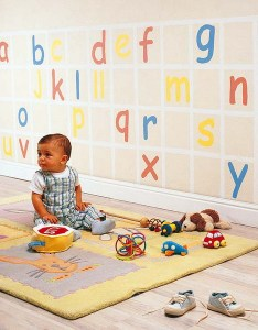 Creative diy nursery project letters wall decoration also projects and growth chart ideas rh enthusiasts