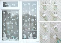Christmas window decoration ideas and displays