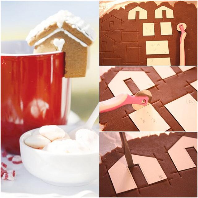 Cute Christmas Treats Dreaming Of Gingerbread Cookies