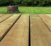 Building Ground-Level Decking