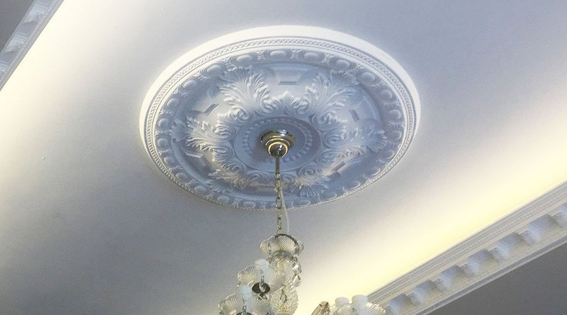 fitting a ceiling rose