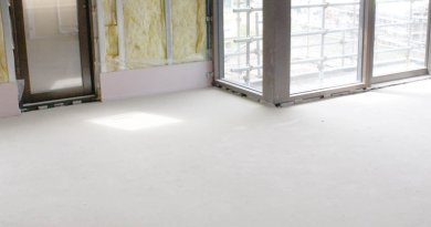 using floor levelling compounds