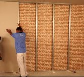Fitting an Insulated Wall Lining