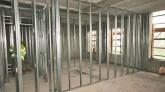 Building a Metal Framed Stud Wall