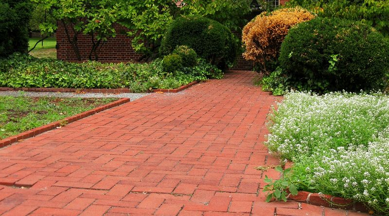 building a paver path