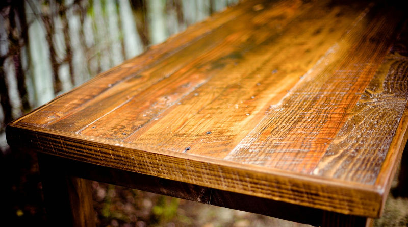 restoring wooden furniture