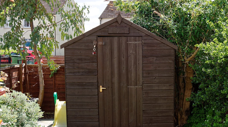 replacing shed roof felt