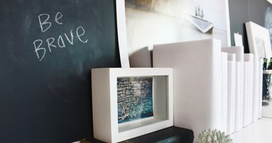 create a chalkboard wall