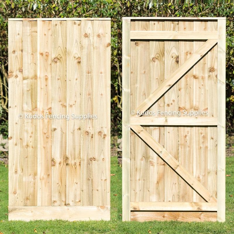Closed Board Garden Gate Bespoke Buy Online Uk Delivery