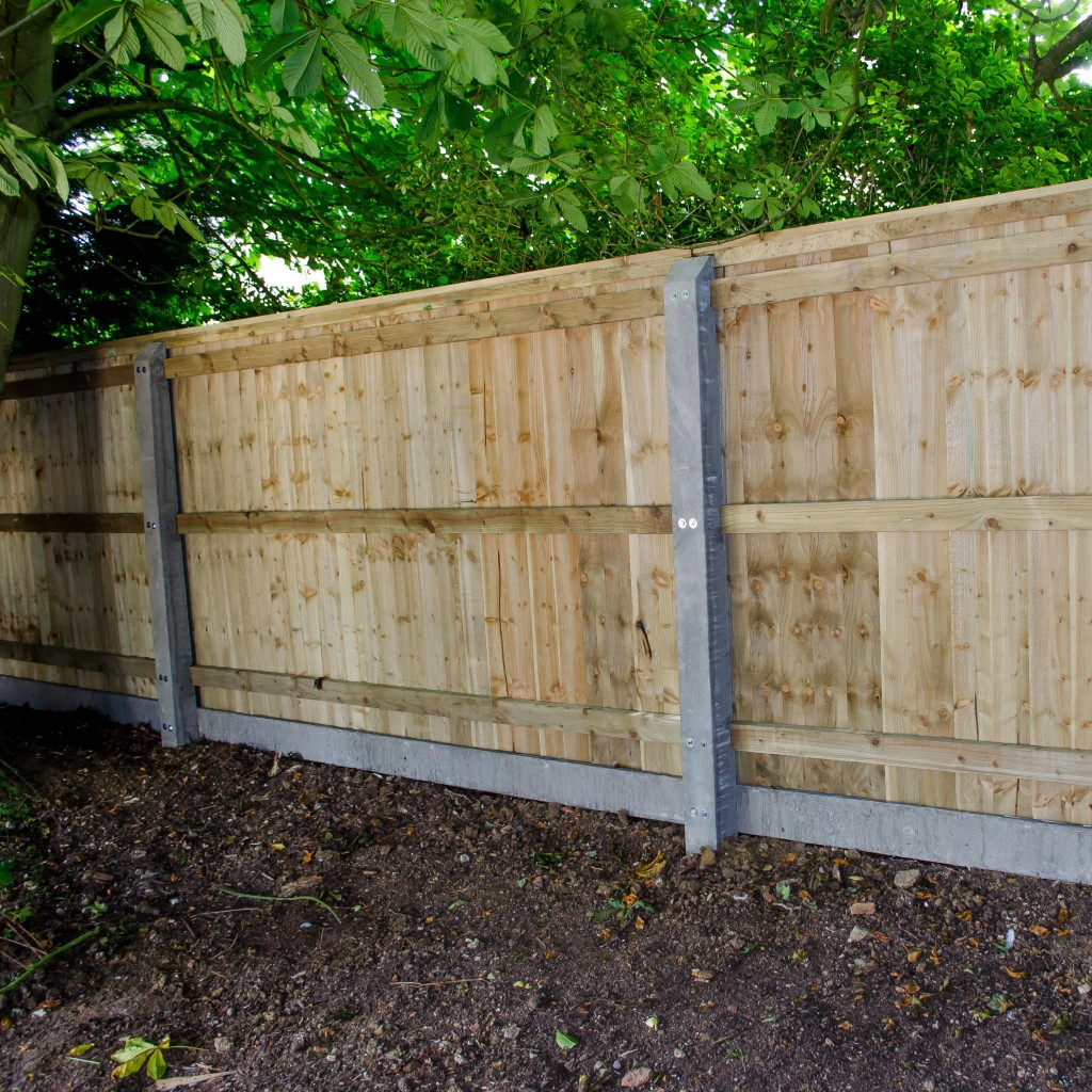 Closeboard Fencing with Concrete Posts Sold per m  UK