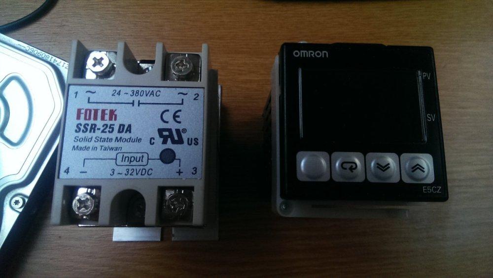 medium resolution of wiring pid ssr heat blanket diy forums express van wiring wiring ssr 25 da
