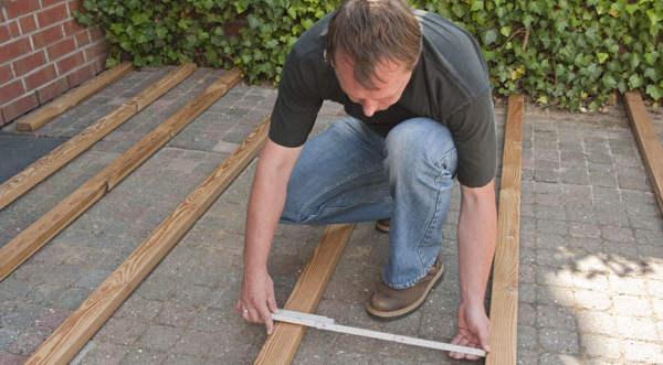 Anleitung Holz Terrasse Selbst Bauen – Unterkonstruktion DIY Info