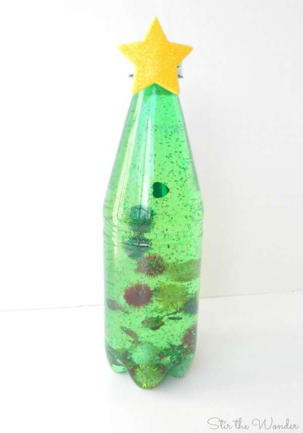 cheap with dcoration noel bouteille plastique fabulous activit recyclage