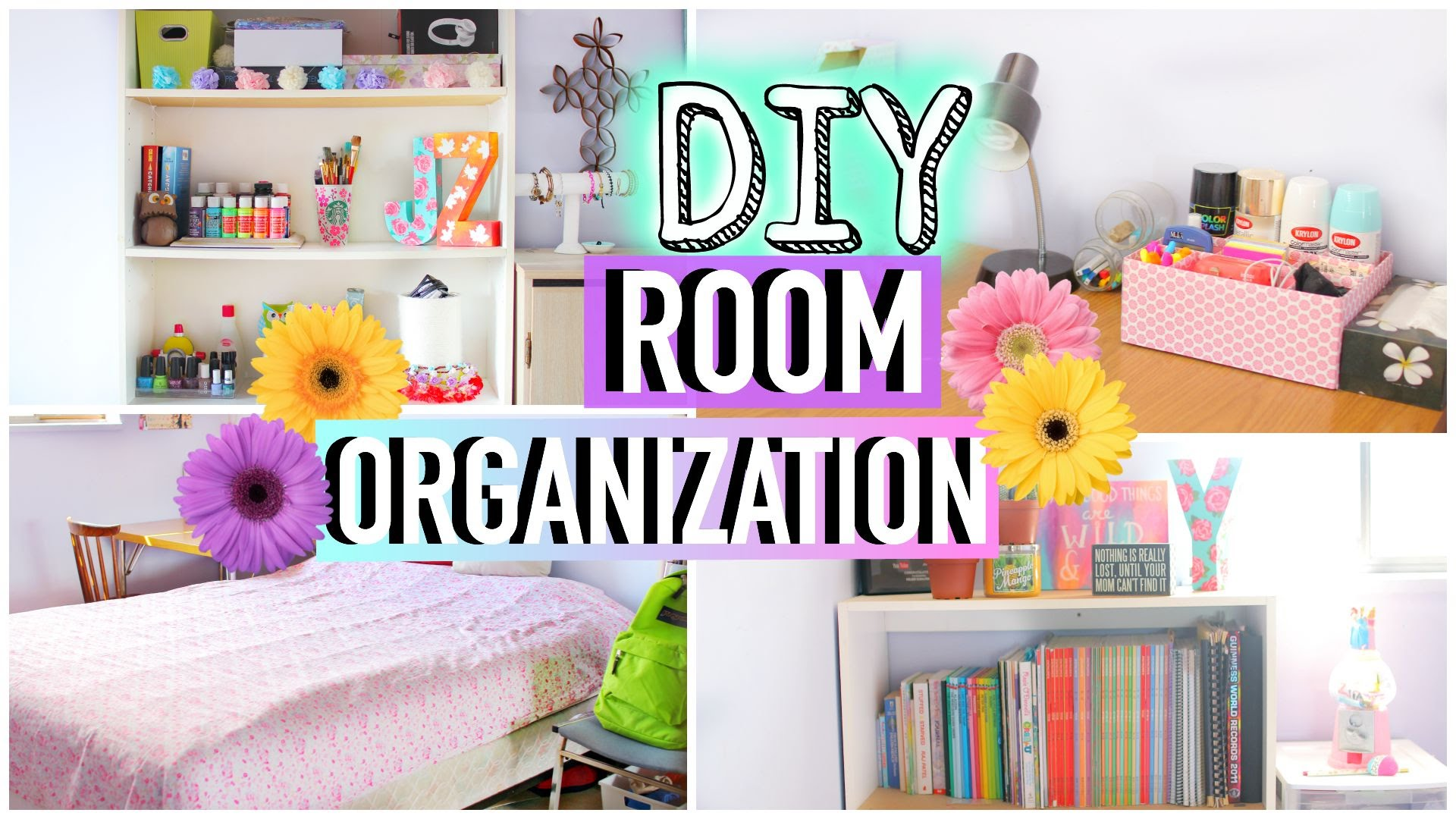 DIY Room Organization and Storage Ideas  How to Clean