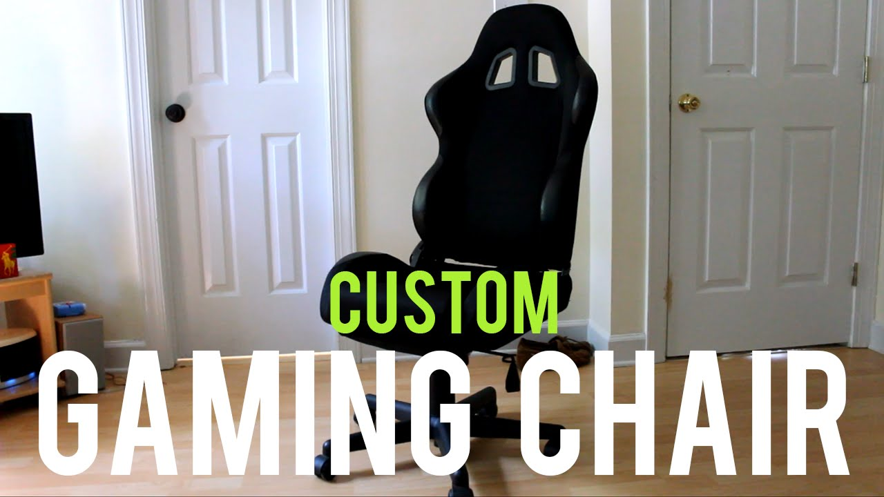 How to make your own Gaming Chair 2015  diyfyi