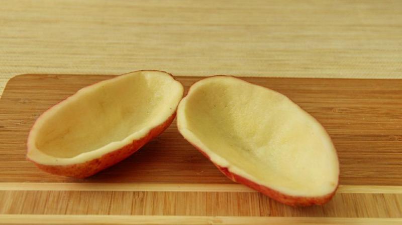 Картофельное блюдце