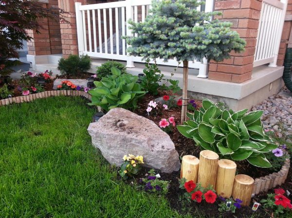 diy landscaping project fixing